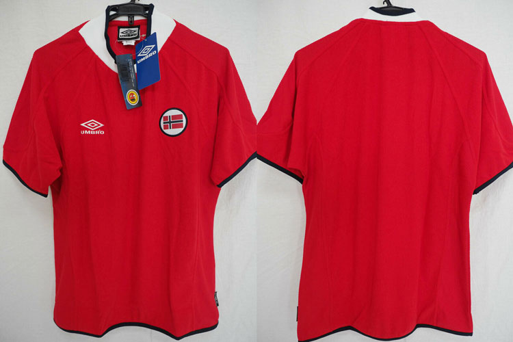promo code 7c4c8 6e70e 2000-2001 Norway National Team Jersey