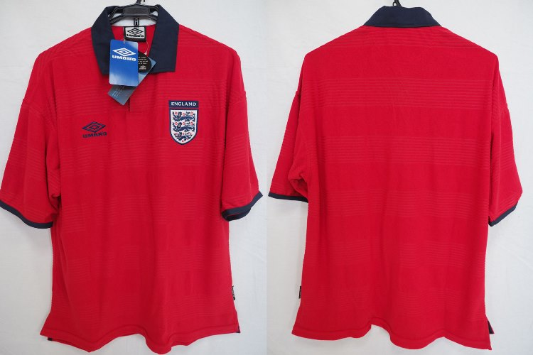 timeless design ab329 19461 2000-2001 England National Team Jersey